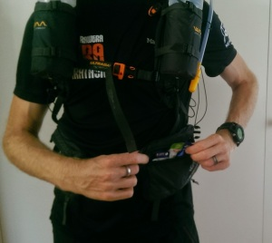 Other waist pocket with 8 gels